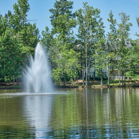 Flowing Fountain | Apartments For Rent Conyers Ga | Lake St. James