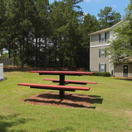 Picnic Area | 3 Bedroom Apartments Near Atlanta Ga | Lake St. James