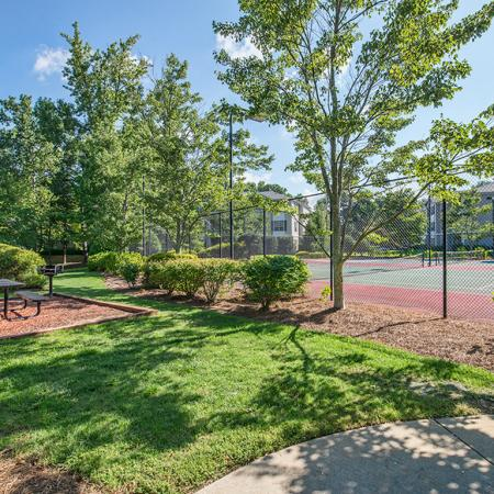 Community Tennis Court | Apartments Near Conyers Ga | Lake St. James