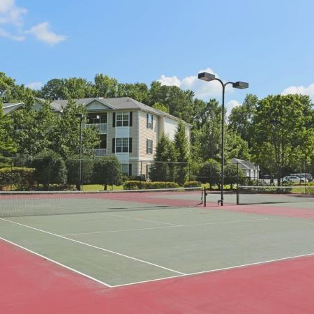 Resident Tennis Court | Apartments For Rent In Conyers Ga | Lake St. James