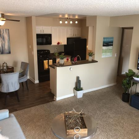 Luxurious Living Room | Apartment Homes in Colorado Springs, CO | Antero