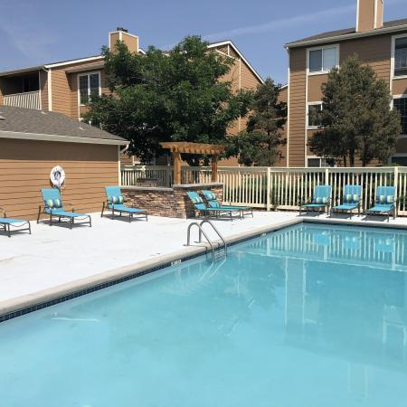 Sparkling Pool | Apartments for rent in Colorado Springs, CO | Antero