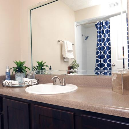 Elegant Bathroom | Apartments in Garland, TX | Creekside on the Green