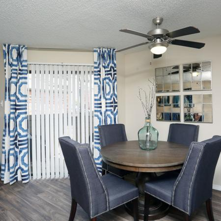 Spacious Dining Room | Apartment in Garland, TX | Creekside on the Green