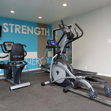 Resident Fitness Center | Apartments Garland, TX | Creekside on the Green