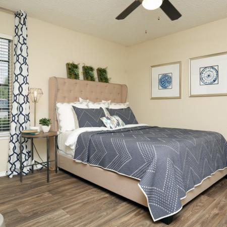 Spacious Bedroom | Garland TX Apartment Homes | Creekside on the Green