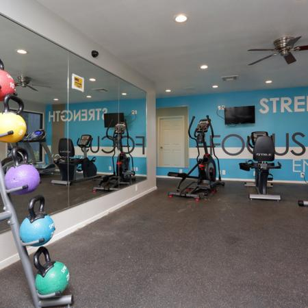 Cutting Edge Fitness Center | Apartments Homes for rent in Garland, TX | Creekside on the Green
