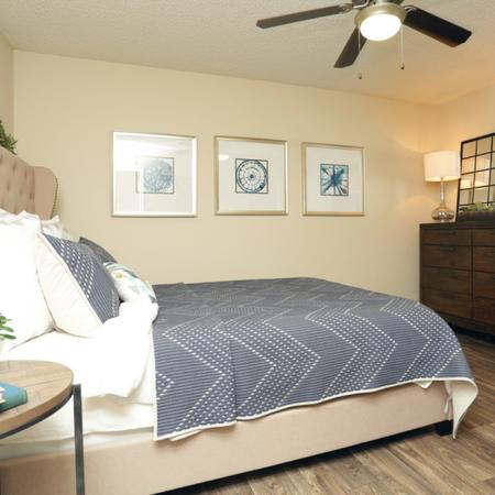 Elegant Bedroom | Garland TX Apartment For Rent | Creekside on the Green