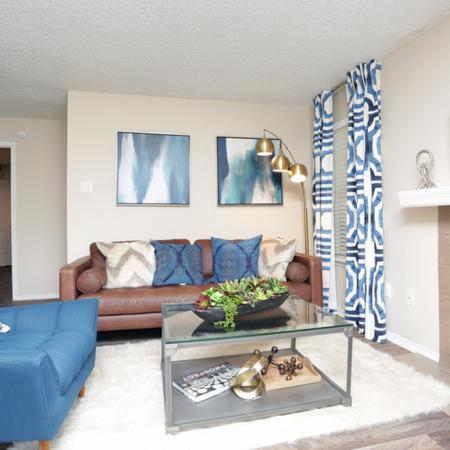 Elegant Living Room | Apartments for rent in Garland, TX | Creekside on the Green
