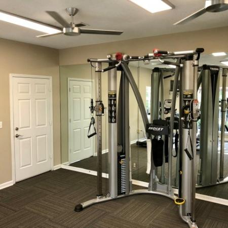 State-of-the-Art Fitness Center | Leesville LA Apartments | Timber Ridge Apartments