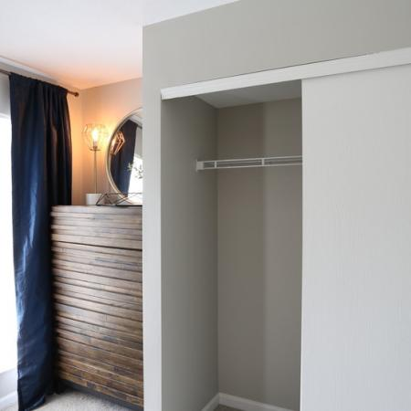Spacious Closet | Apartments in Columbus, OH | Alkire Glen