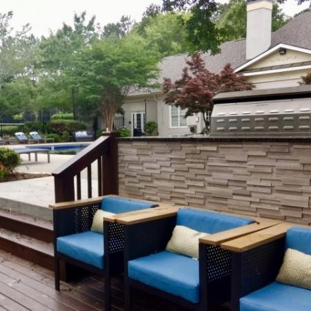 Community BBQ Grills | Conyers GA Apartment For Rent | Lake St. James