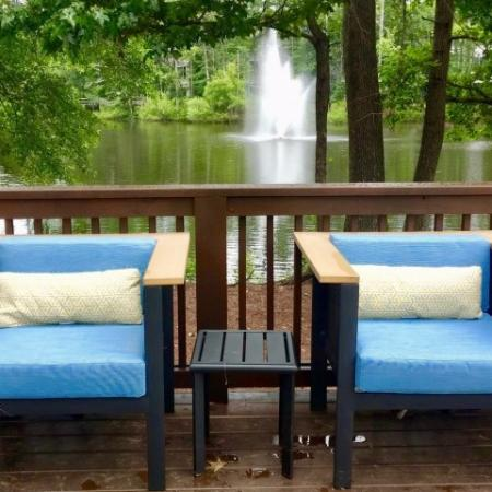 Community Sun Deck | Apartments in Conyers, GA | Lake St. James