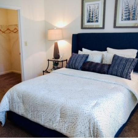 Spacious Bedroom | Conyers GA Apartment Homes | Lake St. James