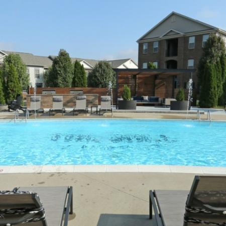 Beautiful Sun-Deck and Pool Furniture | Apartment in Georgetown, KY | The Mill at Georgetown