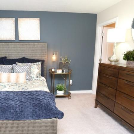 Spacious Master Bedroom | Apartment in Georgetown, KY | The Mill at Georgetown