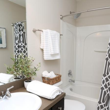 Elegant Bathroom | Apartment in Georgetown, KY | The Mill at Georgetown