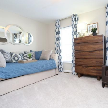 Spacious Guest Bedroom | Apartment in Georgetown, KY | The Mill at Georgetown