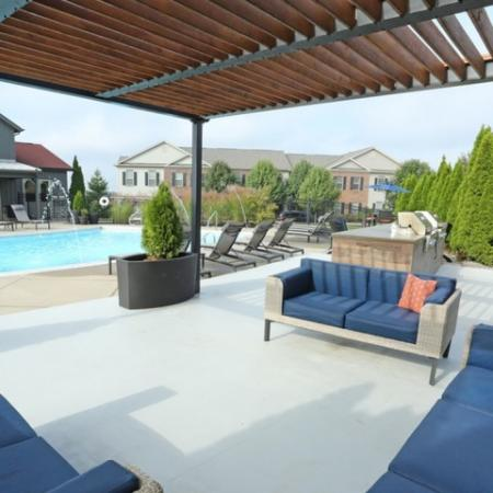 Beautiful Sun-Deck and Pergula | Apartment in Georgetown, KY | The Mill at Georgetown
