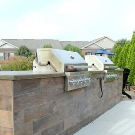 State-of-the-art Grills | Apartment in Georgetown, KY | The Mill at Georgetown