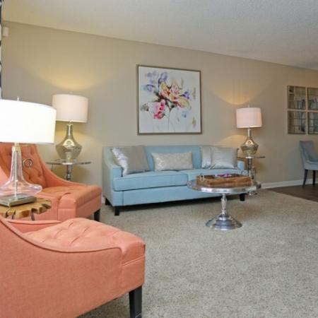 Spacious Living Room | Apartments in Colorado Springs, CO | Antero