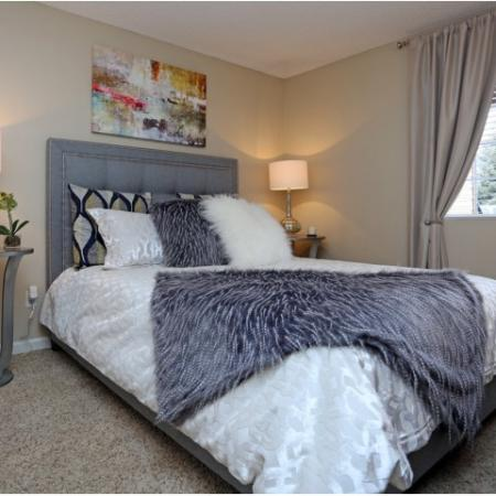 Spacious Bedroom | Colorado Springs CO Apartment Homes | Antero