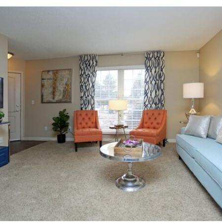 Elegant Living Room | Apartments for rent in Colorado Springs, CO | Antero