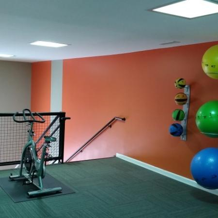Fitness Center, Second Floor | Apartments for rent in Greensboro, NC | Park at Oak Ridge