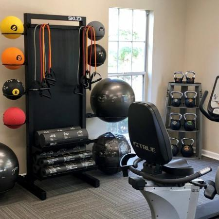 Resident Fitness Center | Apartments Leesville LA | Timber Ridge Apartments