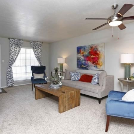 Spacious Living Room | Apartments for rent in Richardson, TX | Belle Grove