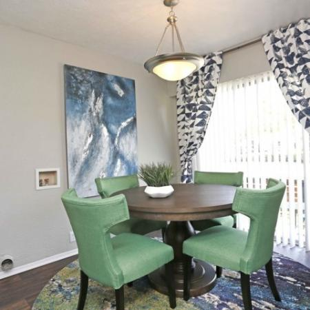 Dining Room | Apartments for rent in Richardson, TX | Belle Grove