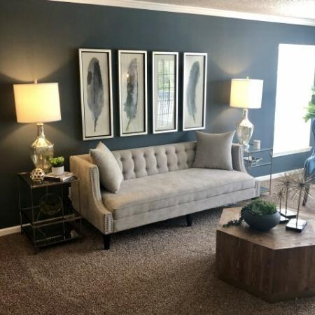 Elegant Living Room | Apartments In Mobile AL | Timber Ridge Apartments