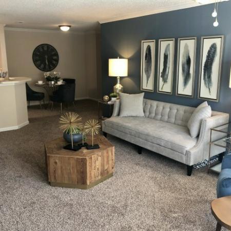 Luxurious Living Room | Mobile AL Apartments | Timber Ridge Apartments