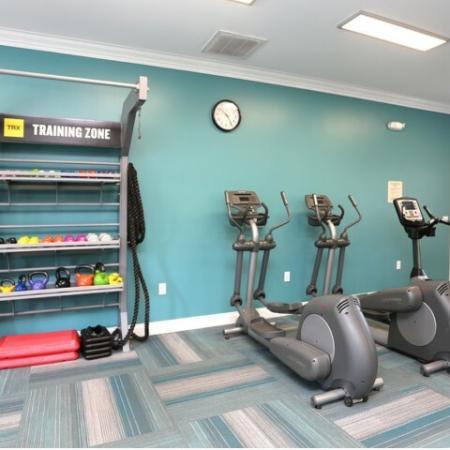 Cutting Edge Fitness Center | Apartments Homes for rent in Winston-Salem, NC | Morgan Ridge