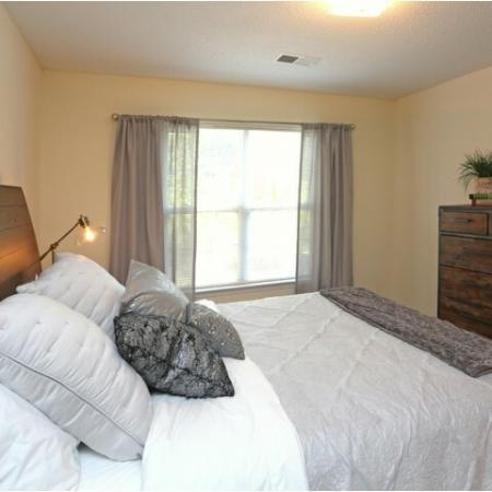 Spacious Bedroom | Winston-Salem NC Apartment Homes | Morgan Ridge