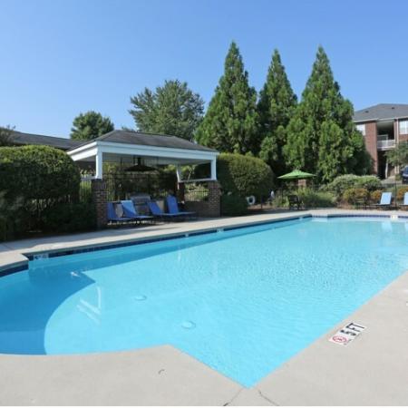 Sparkling Pool | Apartments for rent in Winston-Salem, NC | Morgan Ridge