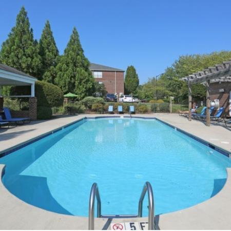 Resort Style Pool | Apartments in Winston-Salem, NC | Morgan Ridge