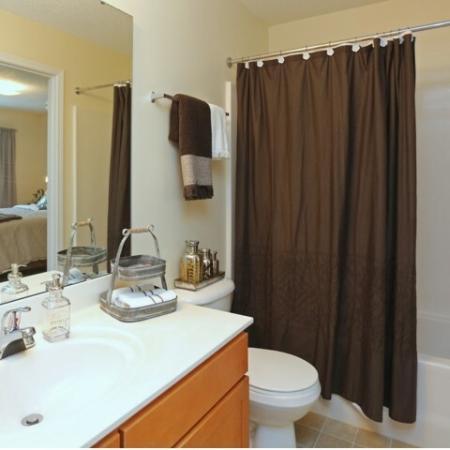 Spacious Bathroom | Winston-Salem NC Apartment For Rent | Morgan Ridge