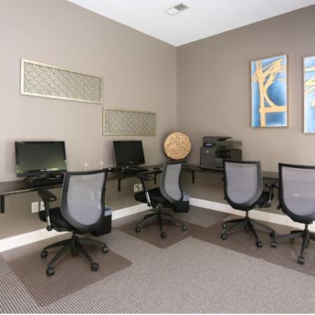 Community Business Center | Apartments in Winston-Salem, NC | Morgan Ridge
