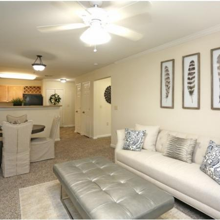 Spacious Living Room | Apartments in Winston Salem, NC | Stratford at Hillcrest