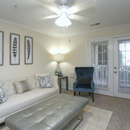 Elegant Living Room | Apartments for rent in Winston Salem, NC | Stratford at Hillcrest