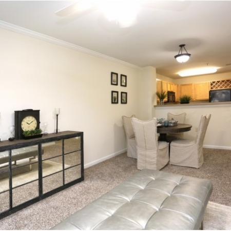 Luxurious Living Room | Apartment Homes in Winston Salem, NC | Stratford at Hillcrest