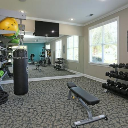 Spacious 24 Hr Fitness Center | Winston Salem NC Apartments For Rent | Stratford at Hillcrest