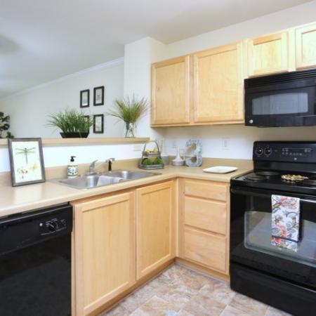 Updated Kitchen | Winston Salem NC Apartments For Rent | Stratford at Hillcrest