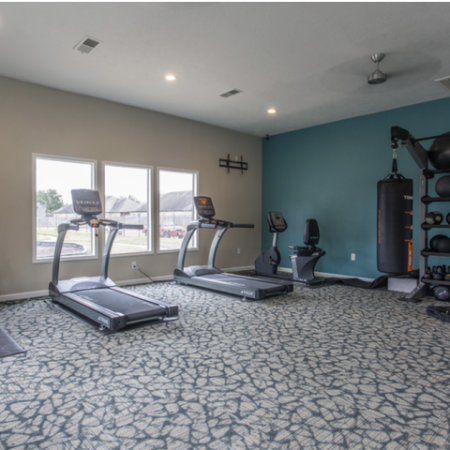 State-of-the-Art Fitness Center | Apartments In Houston Texas | Steepleway Downs
