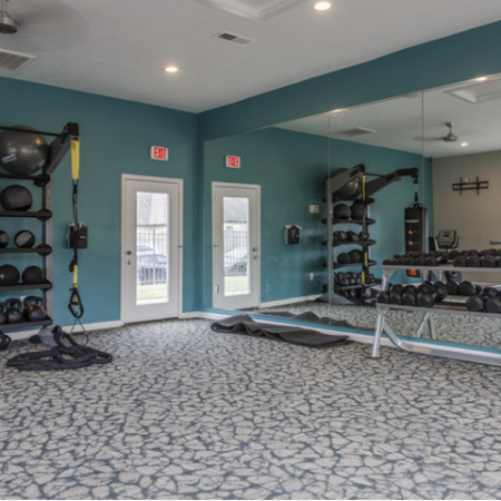 Cutting Edge Fitness Center | Apartment For Rent In Houston Texas | Steepleway Downs