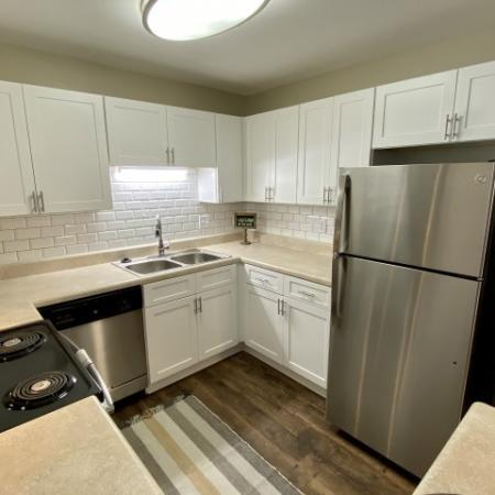 Modern Kitchen | Mobile Housing | Timber Ridge Apartments