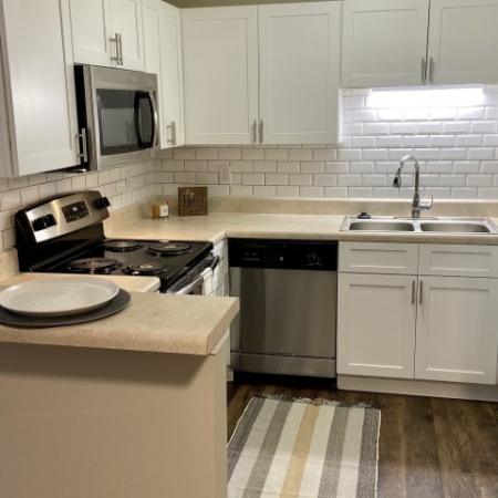 Updated Kitchen | Apartments In Mobile AL | Timber Ridge Apartments