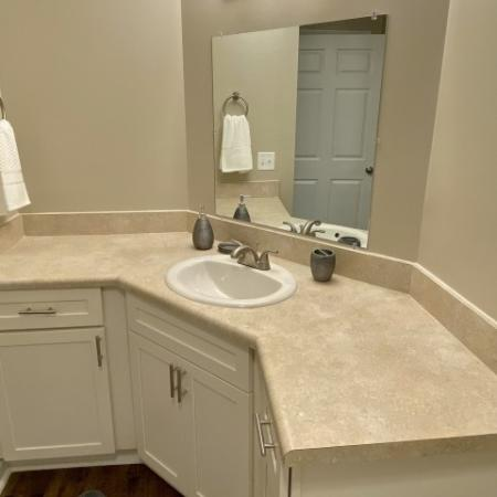 Updated Bathroom | Apartments For Rent In Mobile AL | Timber Ridge Apartments