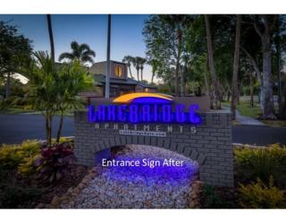 Entrance Sign after